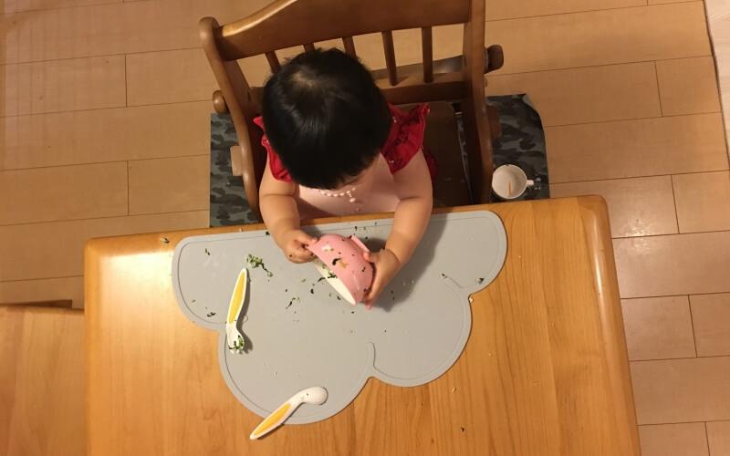 赤ちゃんの食べこぼしに『ezpz イージーピージー』食器マットがおすすめ | 育児便利グッズ #15