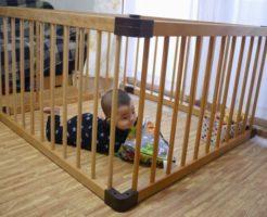 赤ちゃんのガードに『ベビーサークル』囲い柵がおすすめ | 育児便利グッズ #12